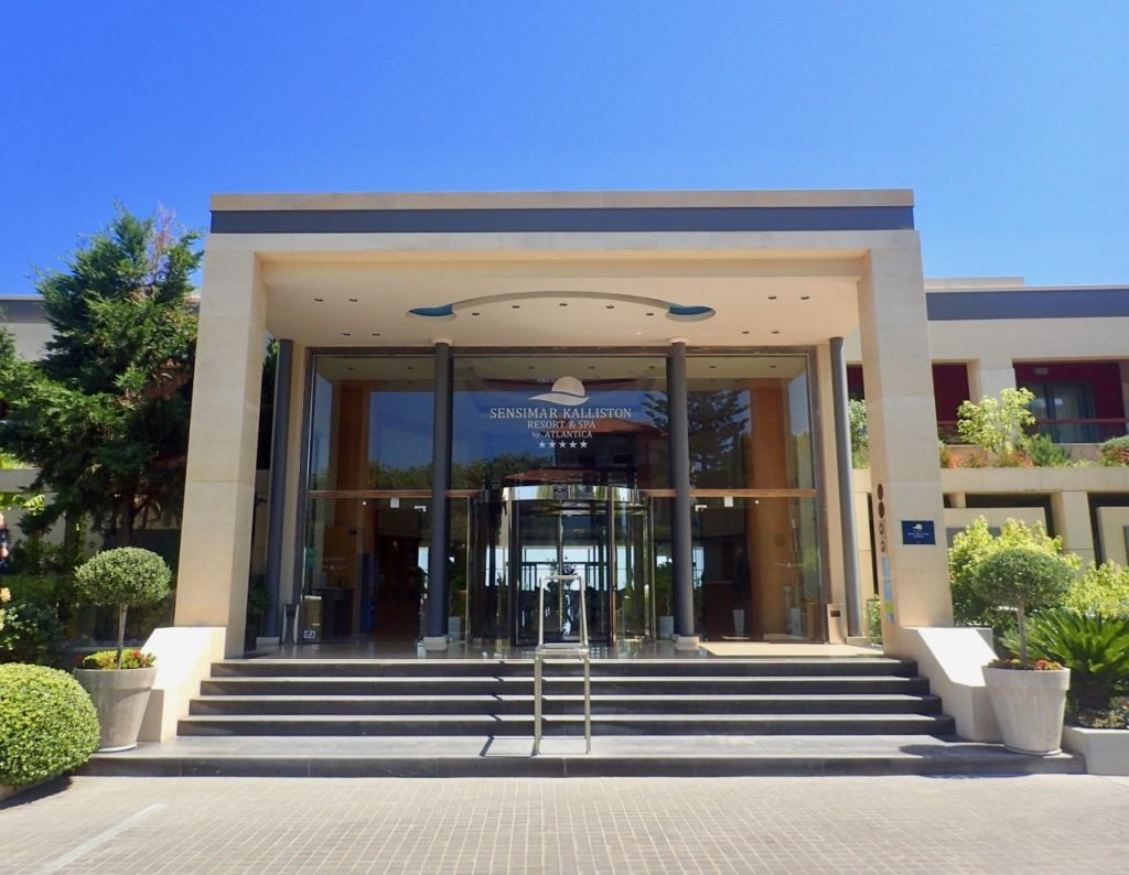 Sensimar Hotel front welcome review