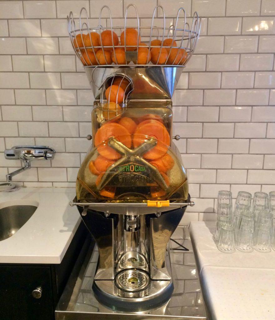 Støtvig hotel orange juice review