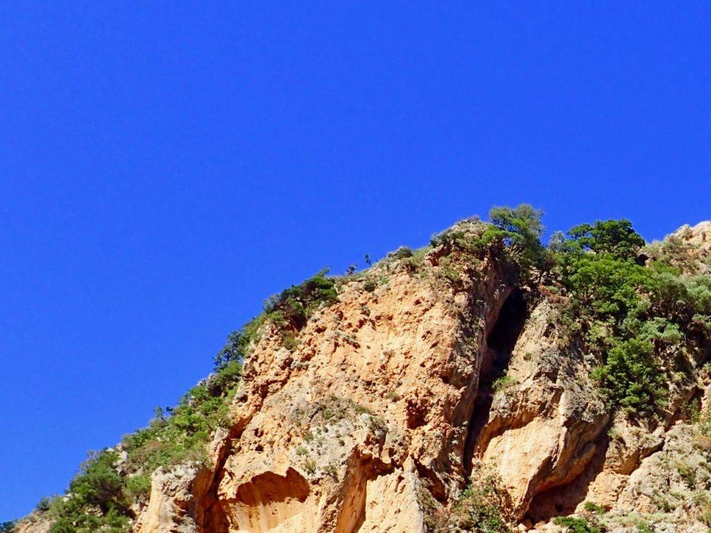 Deliana Gorge blue skies