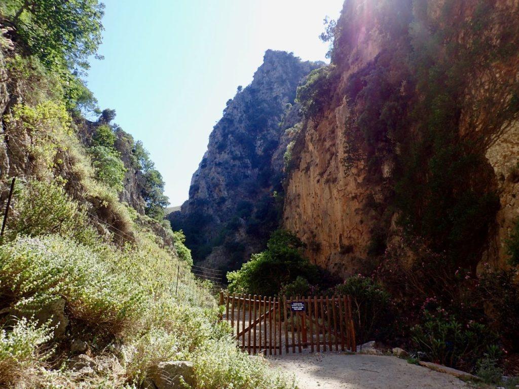 Deliana gorge entry