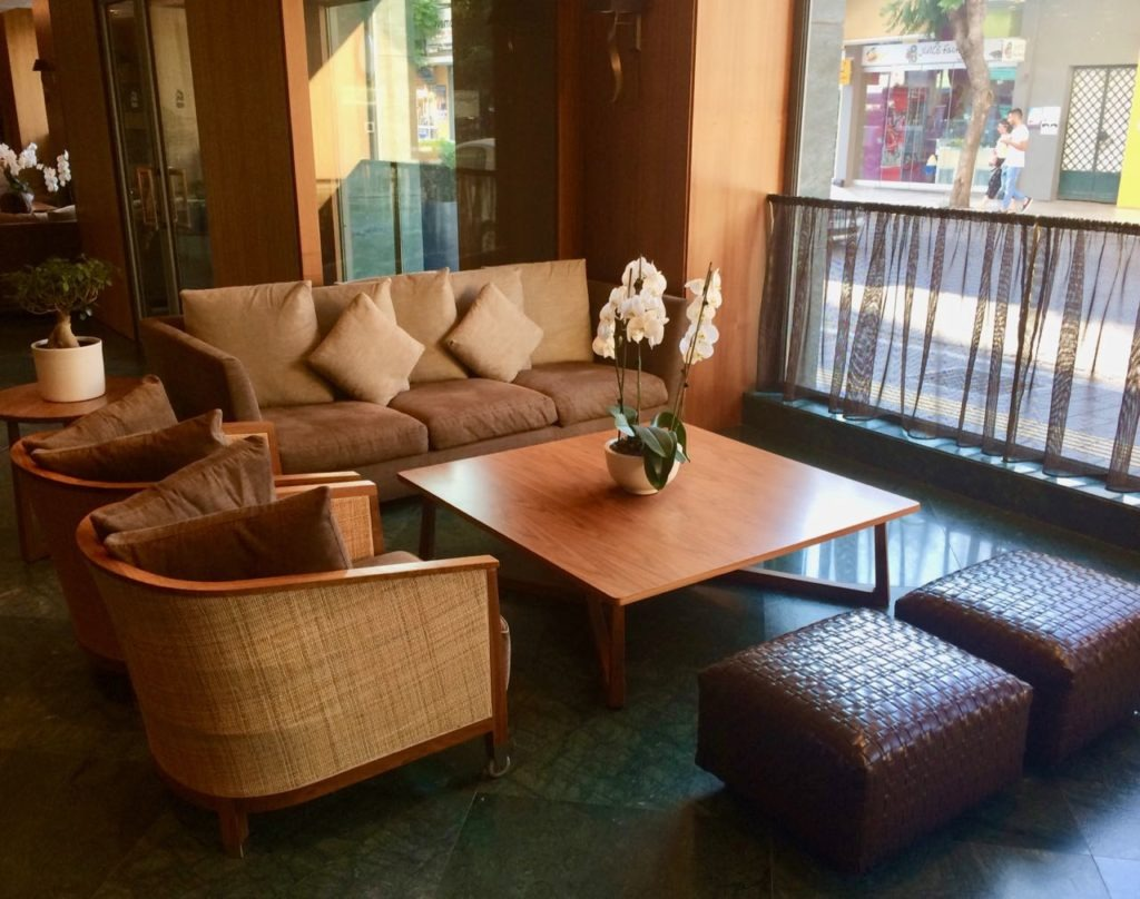 Samaria Hotel Chania reception review