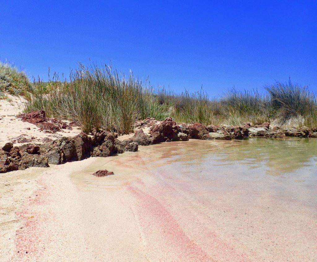 Kissamos beach secret pink
