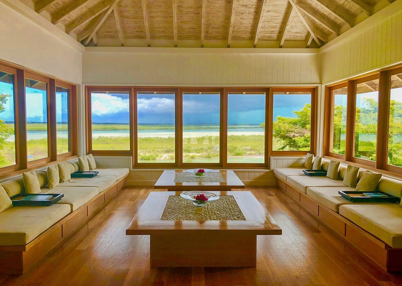 como shambhala spa enterance parrot cay review