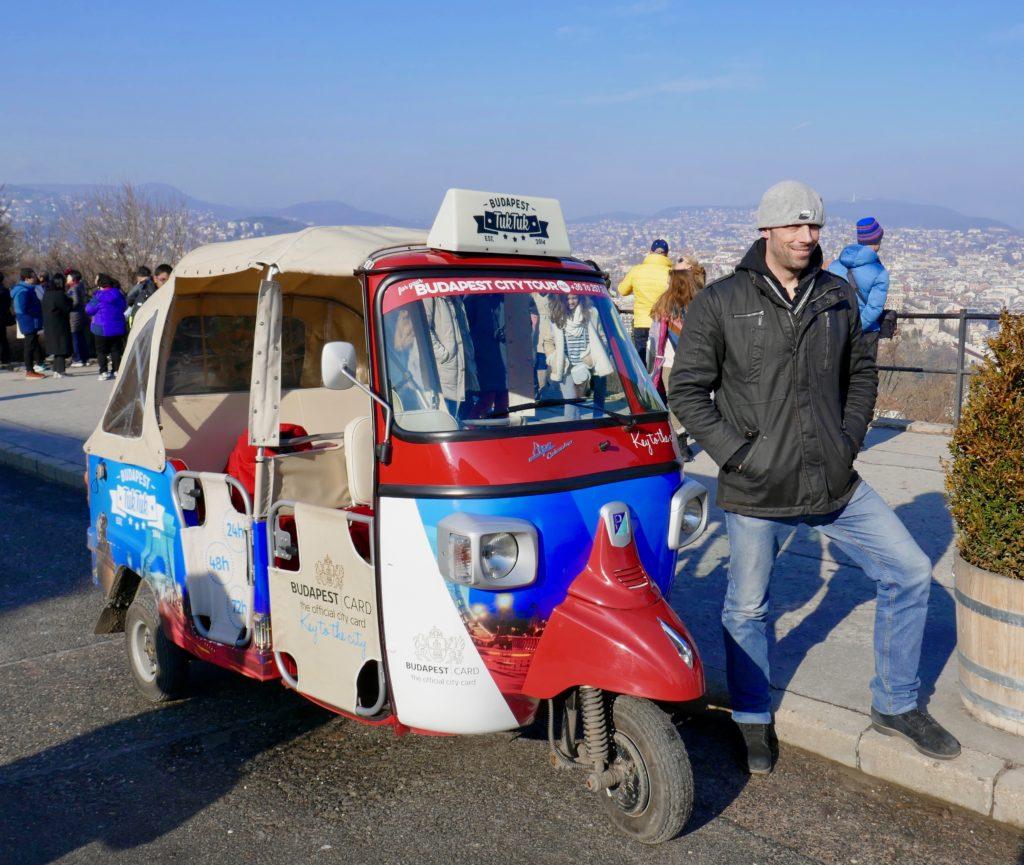 Travel tips Budapest Tuk Tuk