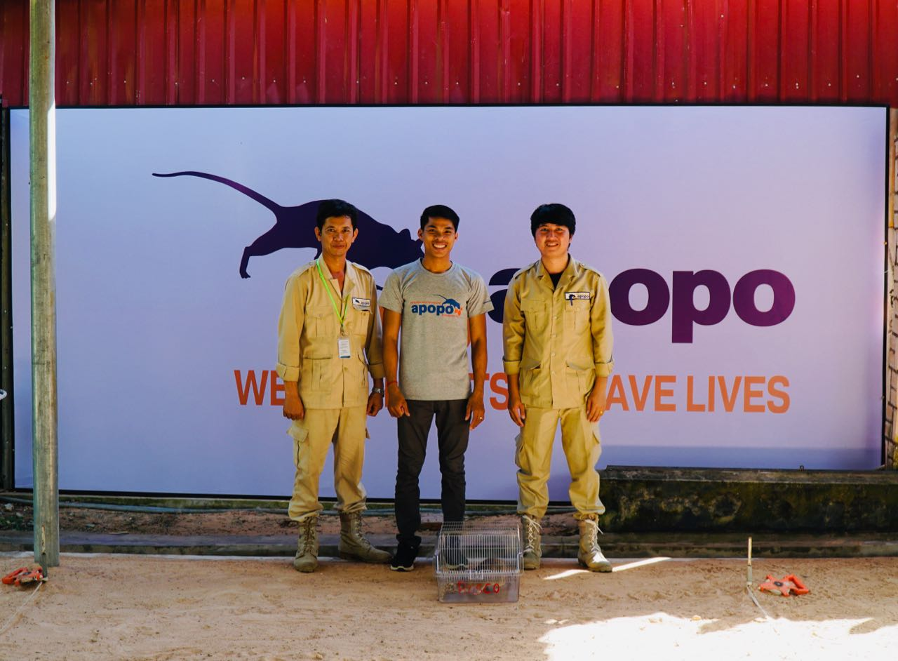 review Apopo Visitor Centre staff