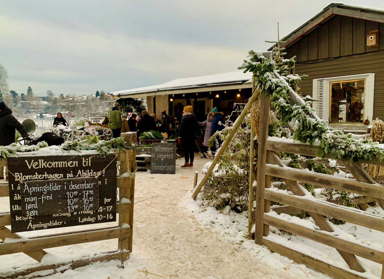 The Blomsterhagen in Abildsø and Abildsø Farm Christmas Markets