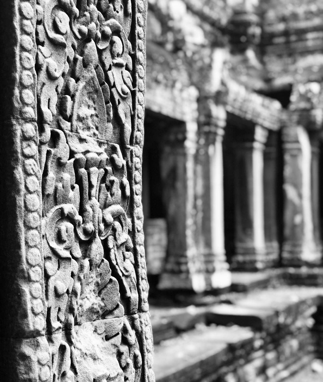 Ta Promh Temple carvings Angkor Kambodsja Siem Reap review