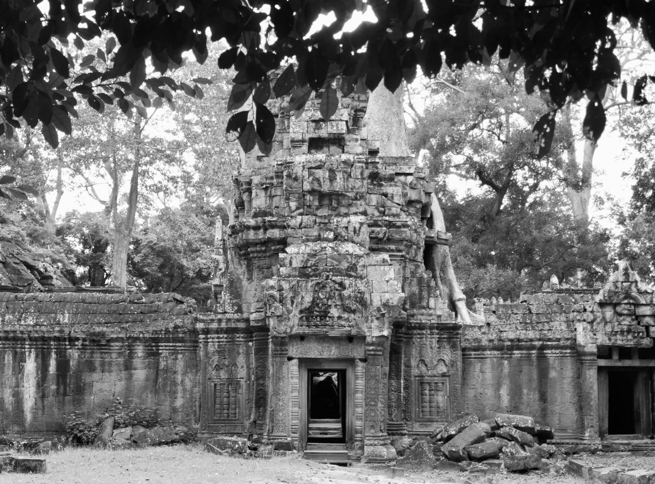 Ta Promh Temple gates Angkor Kambodsja Siem Reap review
