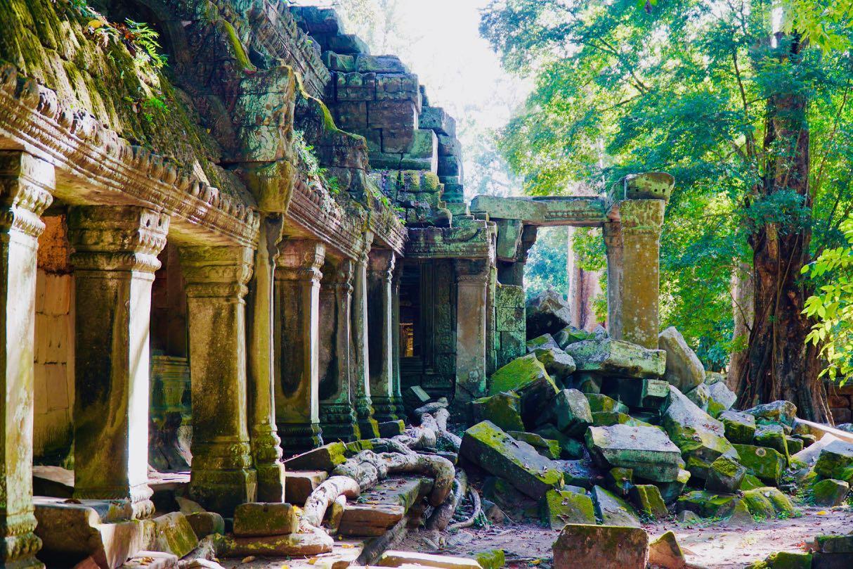 Ta Promh Temple ruins Angkor Kambodsja Siem Reap review