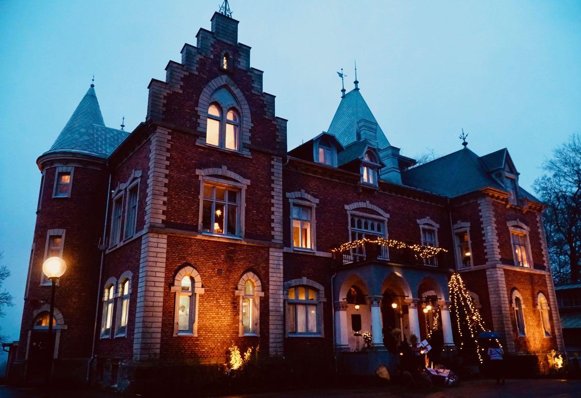Thorskogs slott castle Christmas review
