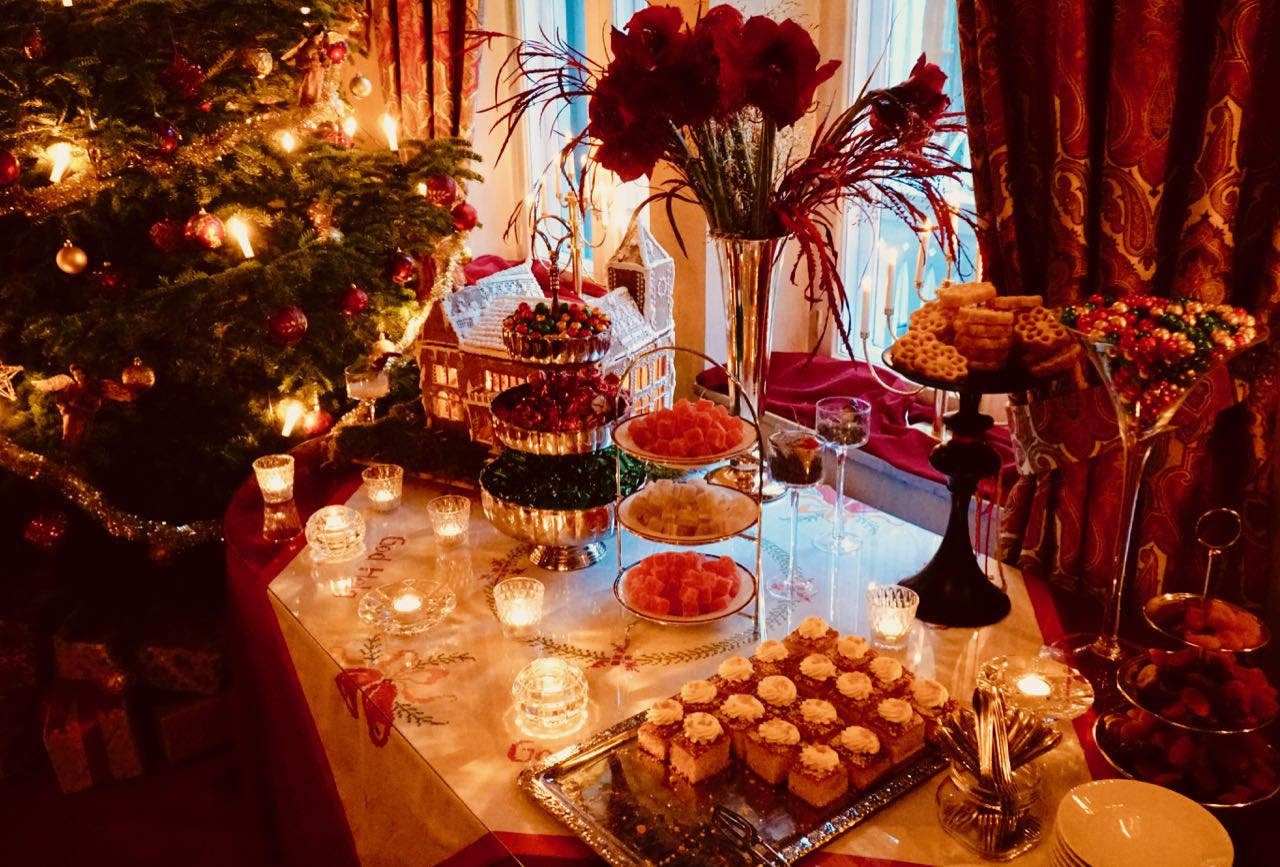 Thorskogs slott castle Christmas cakes sweets review