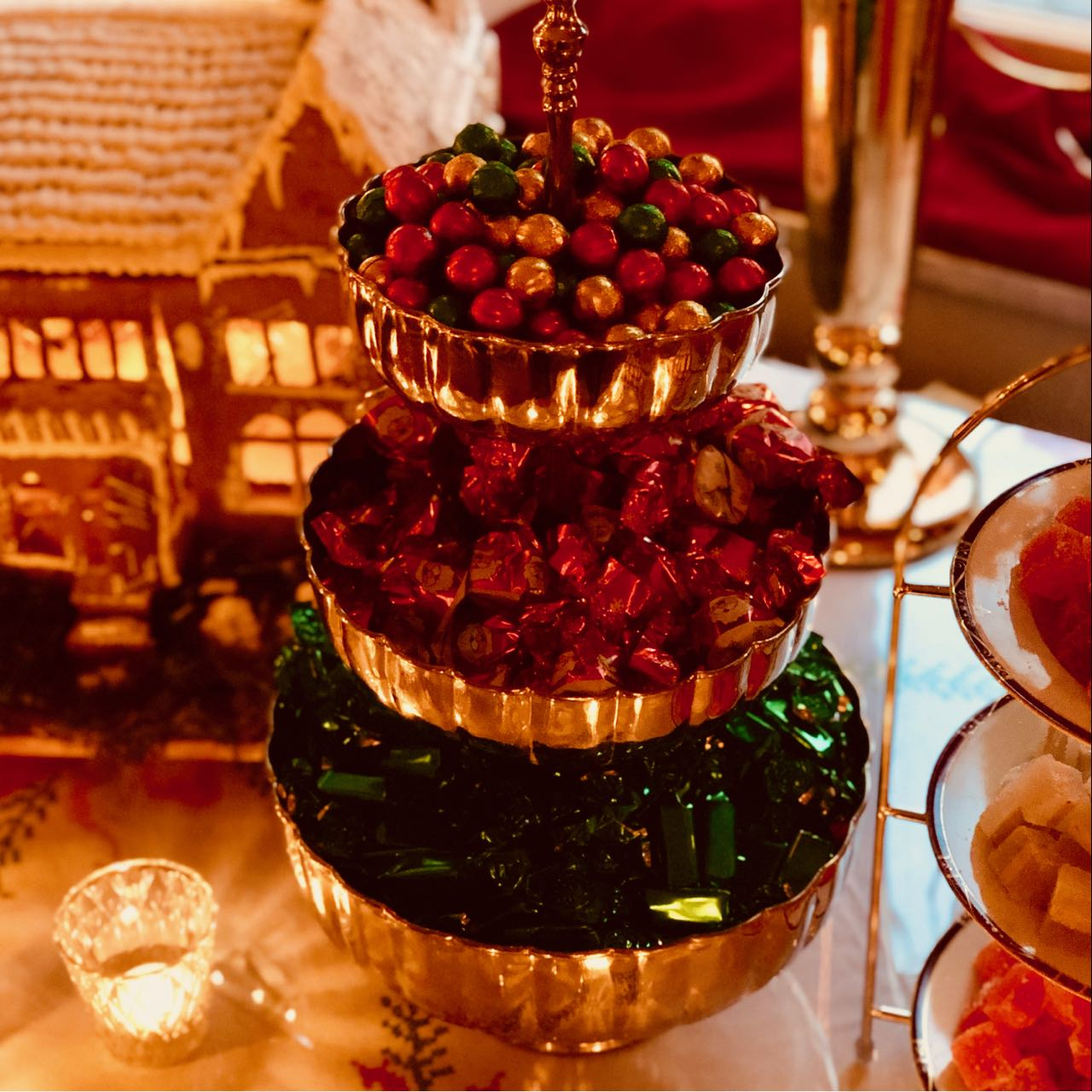 Thorskogs slott castle Christmas sweets review