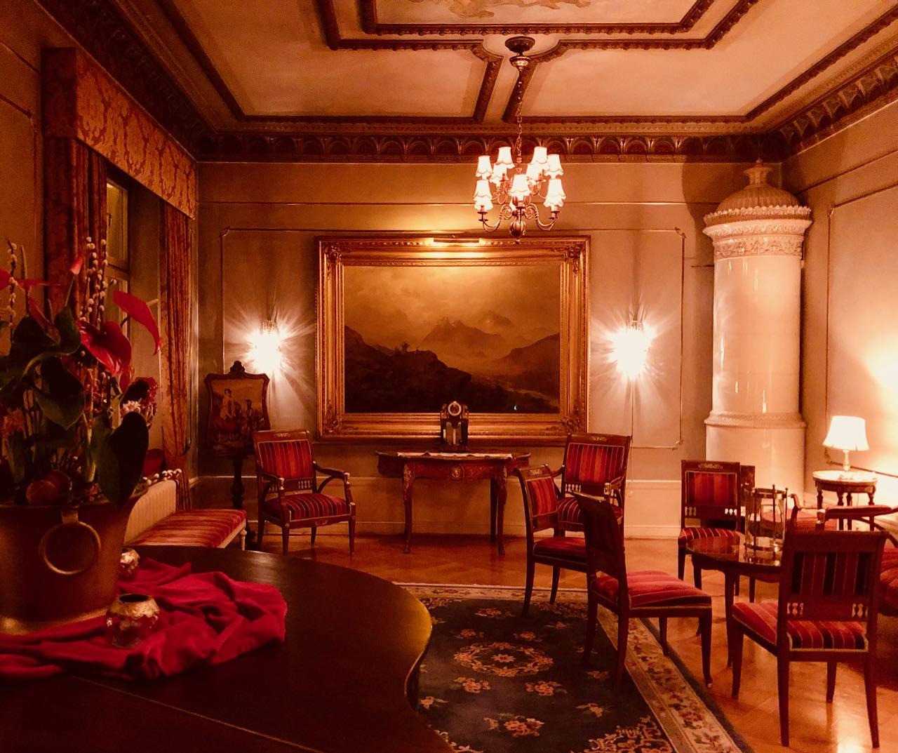 Thorskogs slott castle Christmas hall review