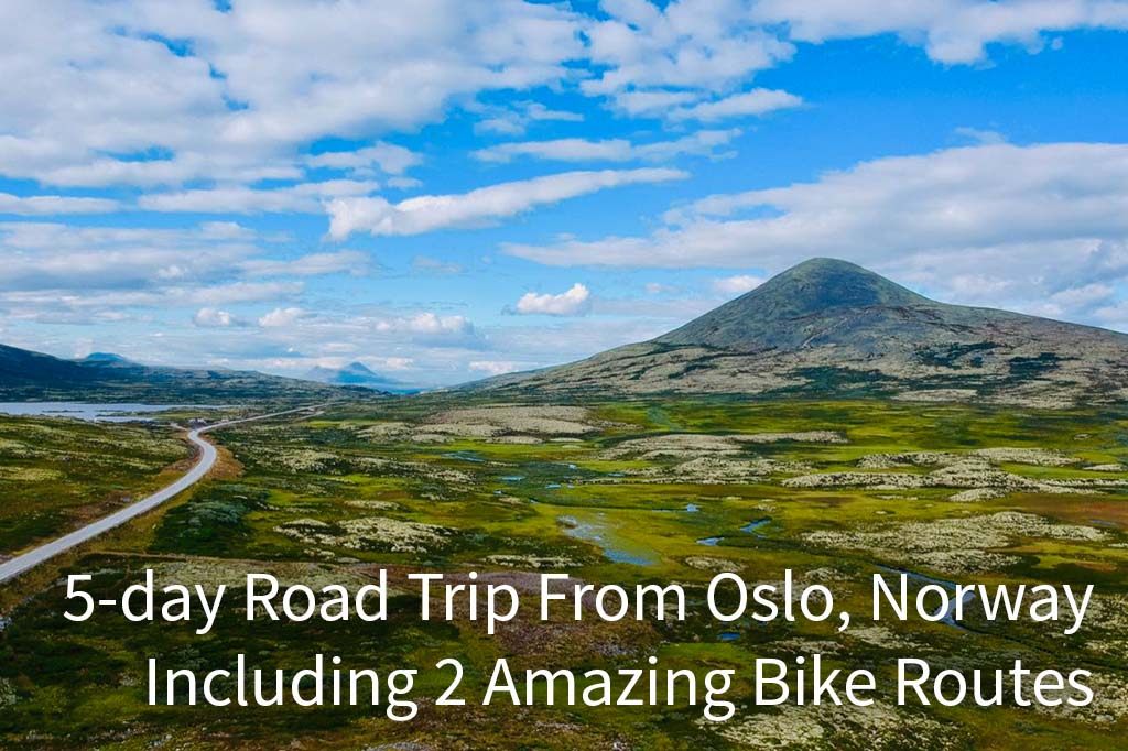 5 day road trip Norway