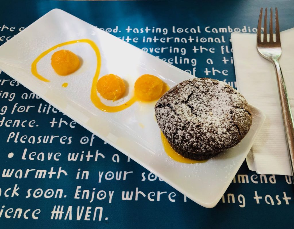 Haven Restaurant Contributing to local communities in Siem Reap
