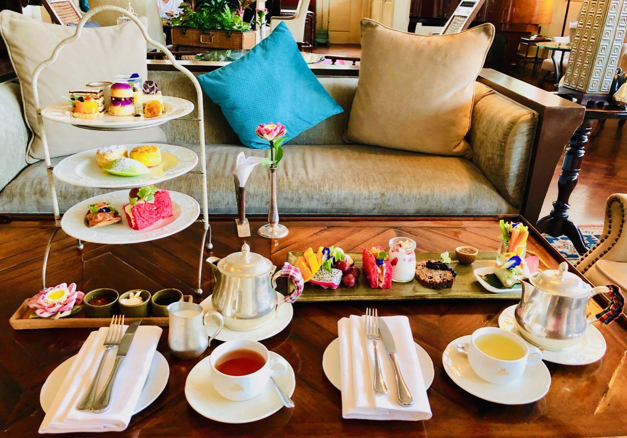 Signature High Tea Wellness Tea Raffles Siem Reap The Conservatory review