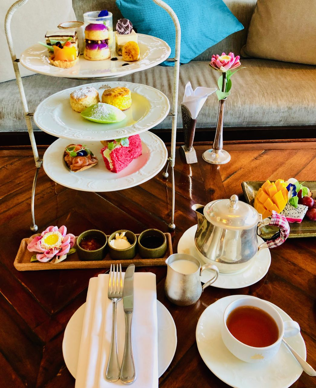 Signature High Tea Raffles Siem Reap review