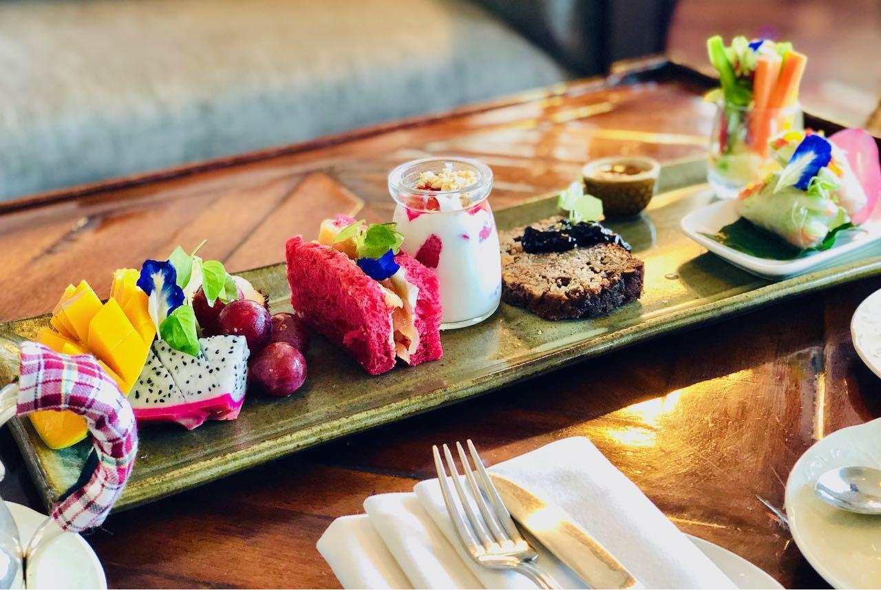 Wellness Tea Raffles Siem Reap The Conservatory review