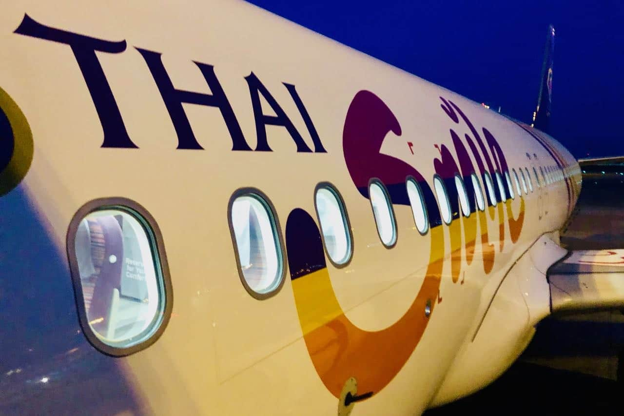 Review Thai Smile Airways Plus