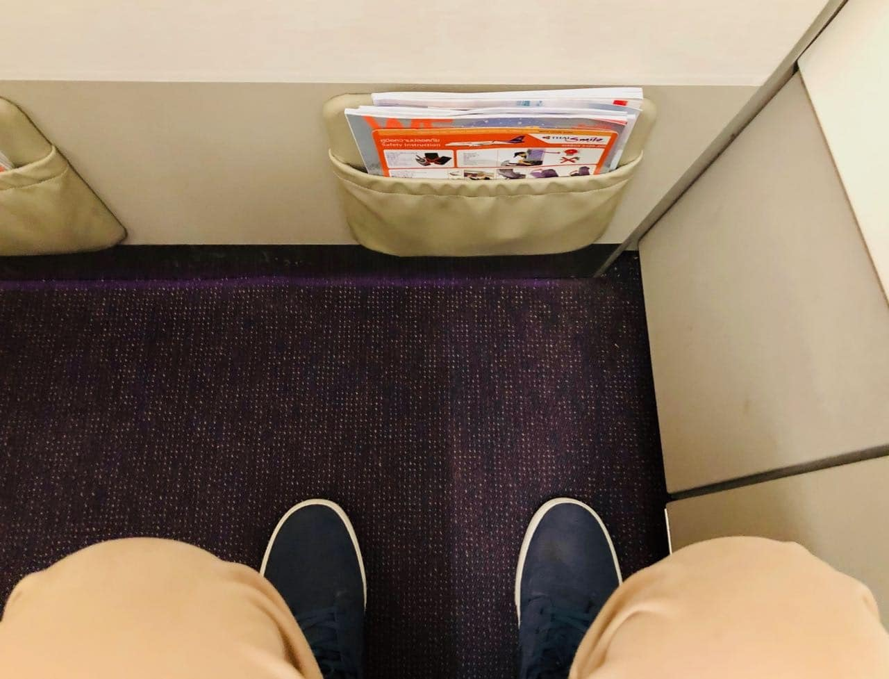 Review Thai Smile Airways Plus seat legroom