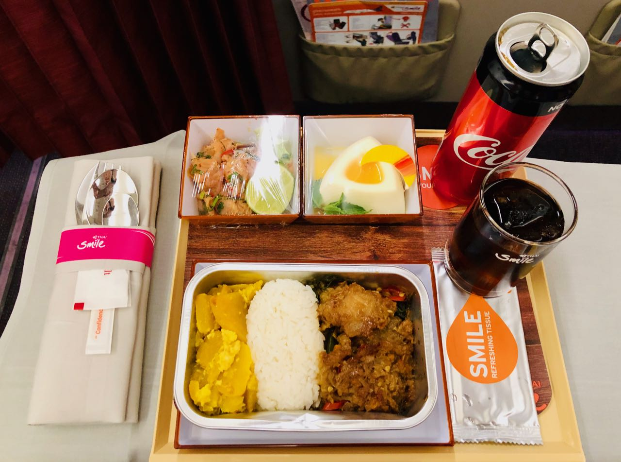 Review Thai Smile Airways Plus Food