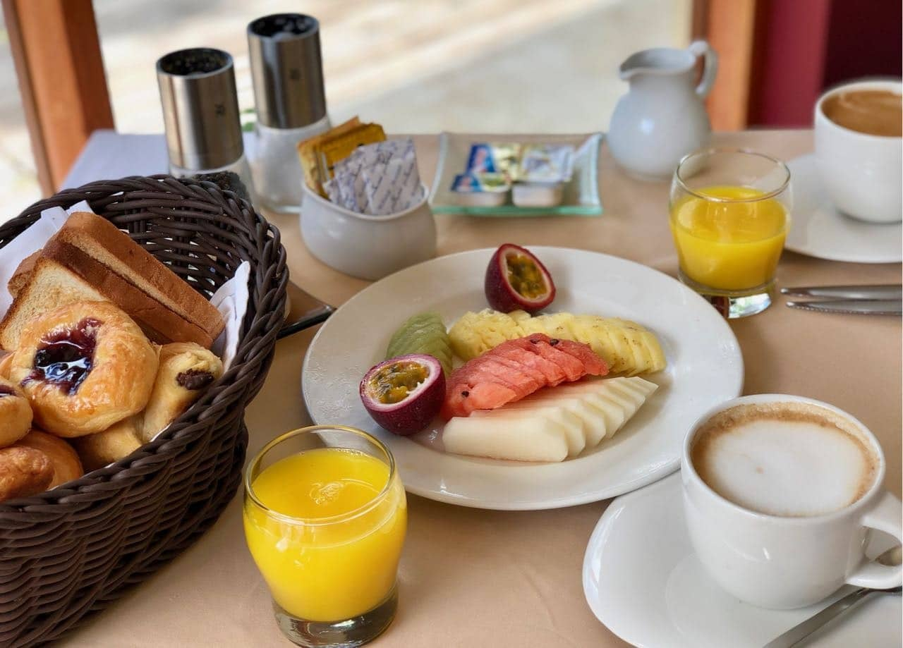 Breakfast Portobello Restaurant Hilton Seychelles Labriz Silhouette Island