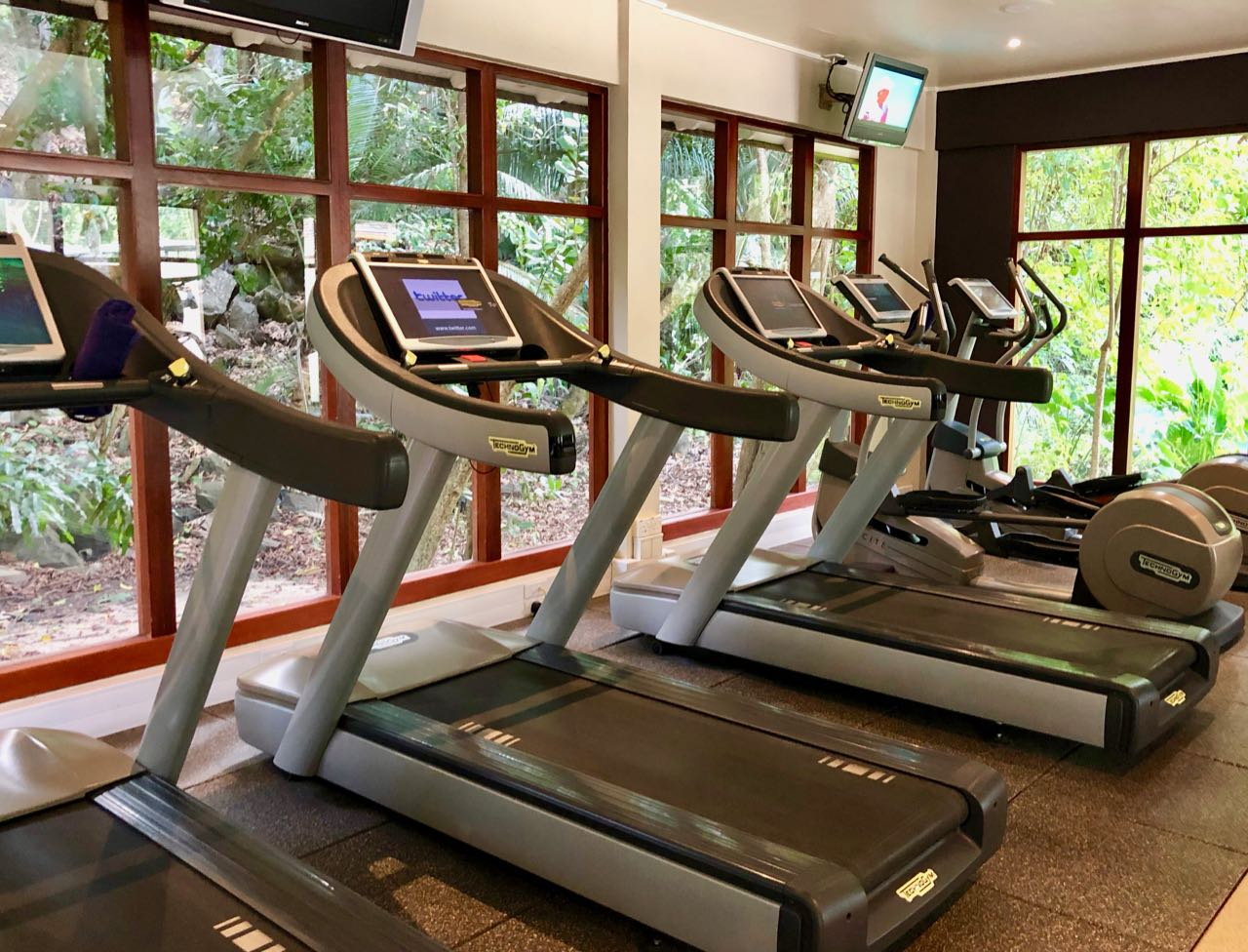 Fitness centre Hilton Seychelles Labriz Silhouette Island