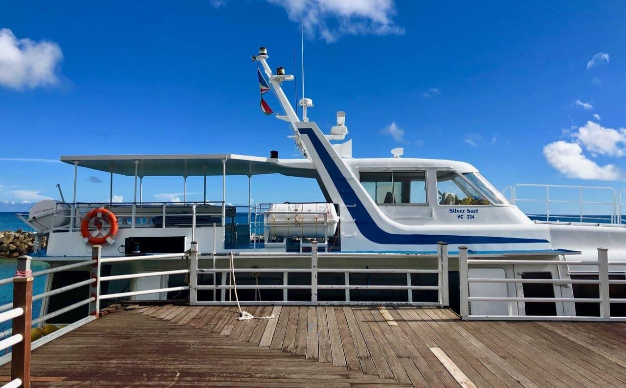 Ferry Hilton Seychelles Labriz Silhouette Island