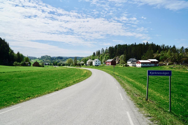 Inderøy Kystriksveien The Coastal Route