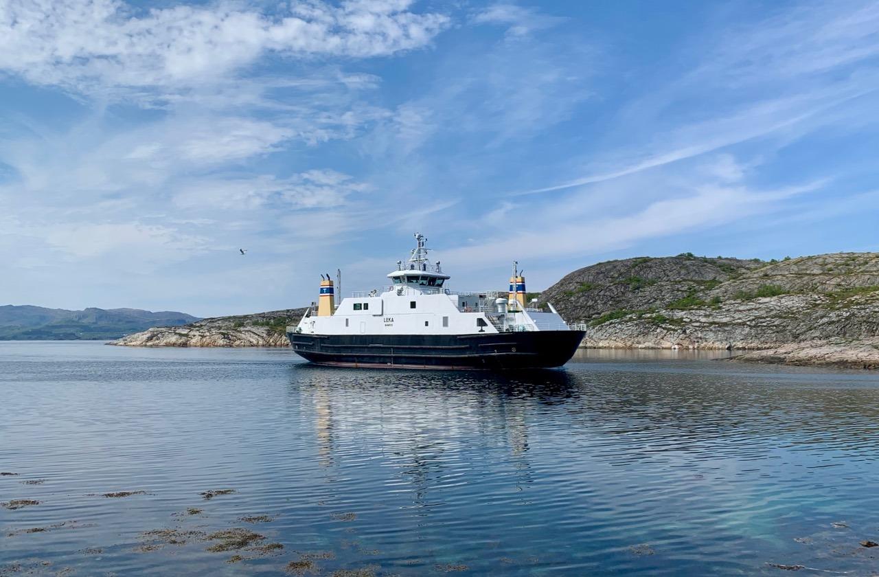 Ferry to Leka, Skei to Gutvik