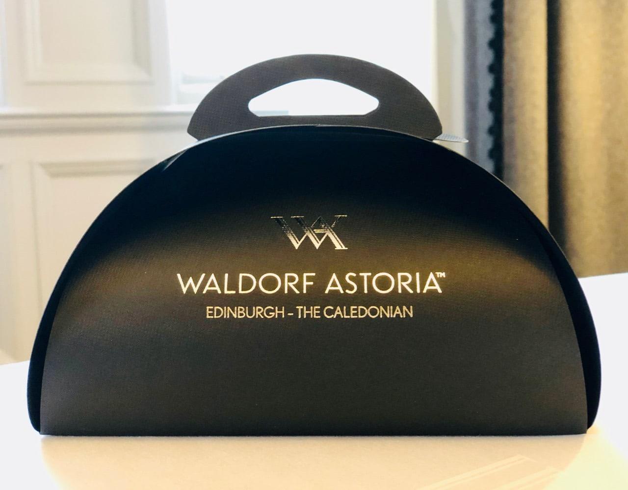 Doggy Bag Afternoon Tea Peacock Alley Waldorf Astoria Edinburgh