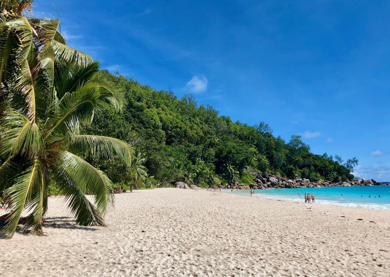 Review Air Seychelles Mahe Praslin Anse Georgette