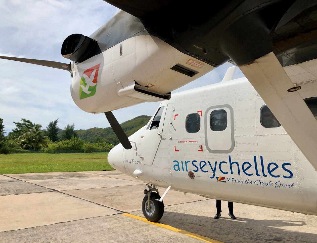 Review Air Seychelles Mahe Praslin