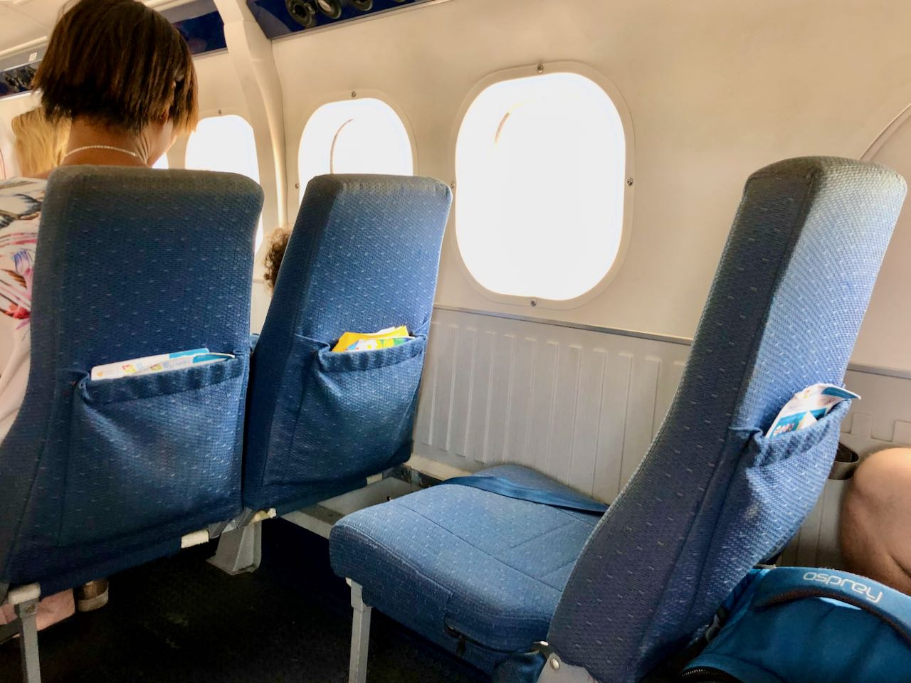 Review Air Seychelles Mahe Praslin cabin