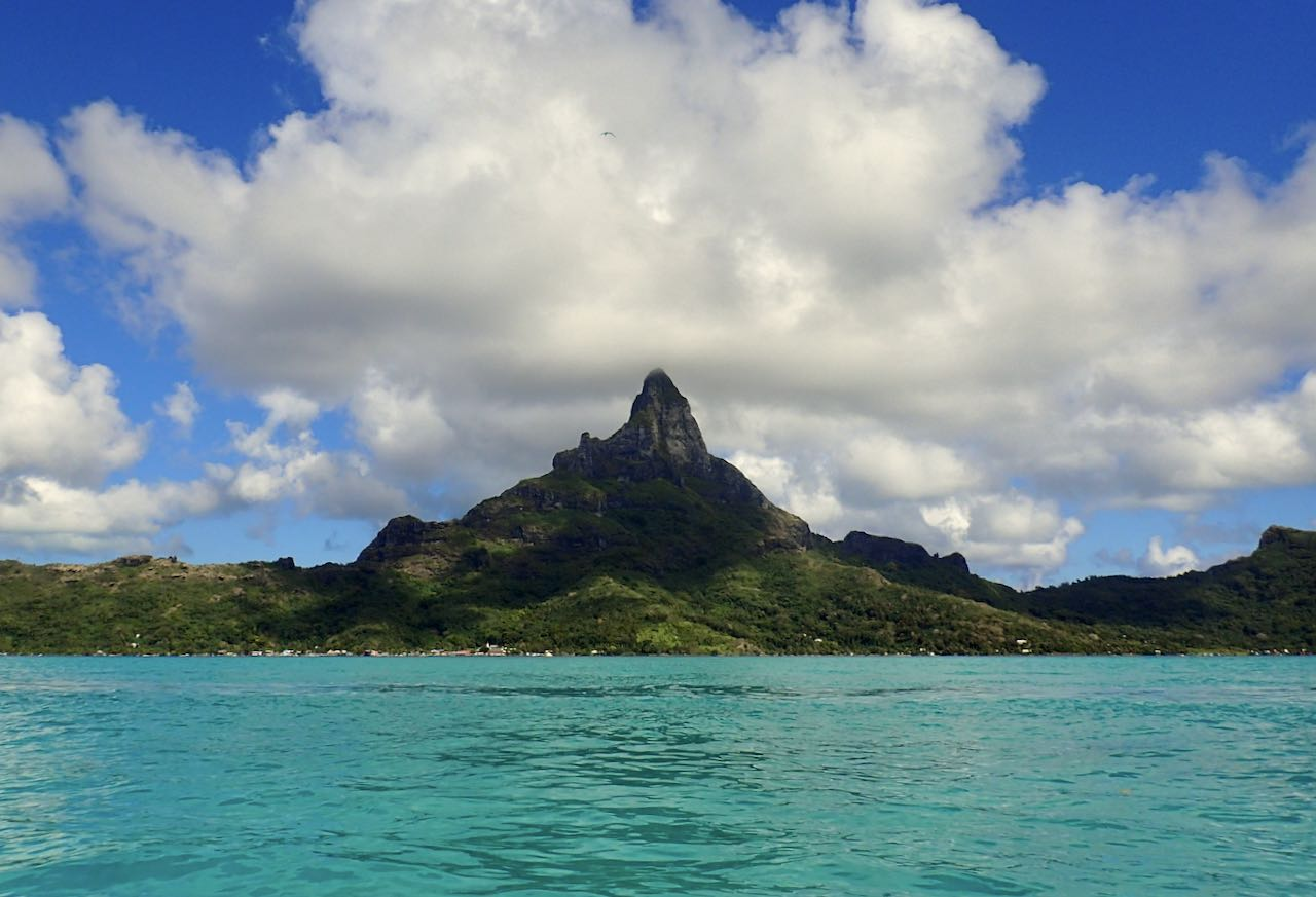 Mount Otamanu The Brando Suite at the InterContinental Bora Bora Thalasso Review