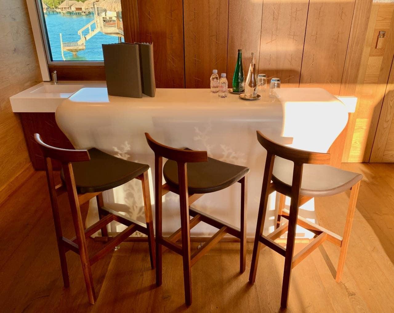 Bar The Brando Suite at the InterContinental Bora Bora Thalasso Review