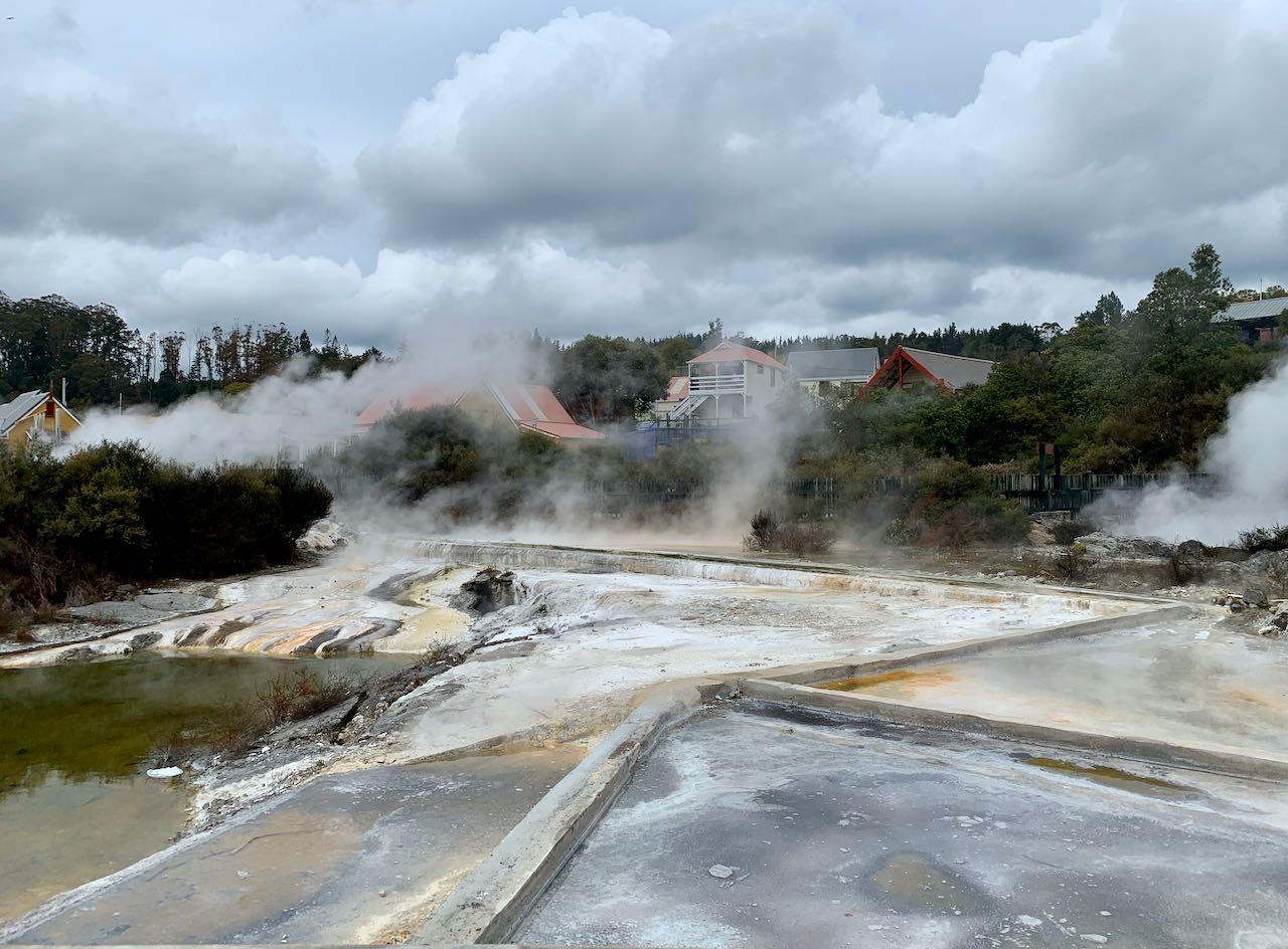 Hot Springs Whakarewarewa, A Geothermal Māori Village