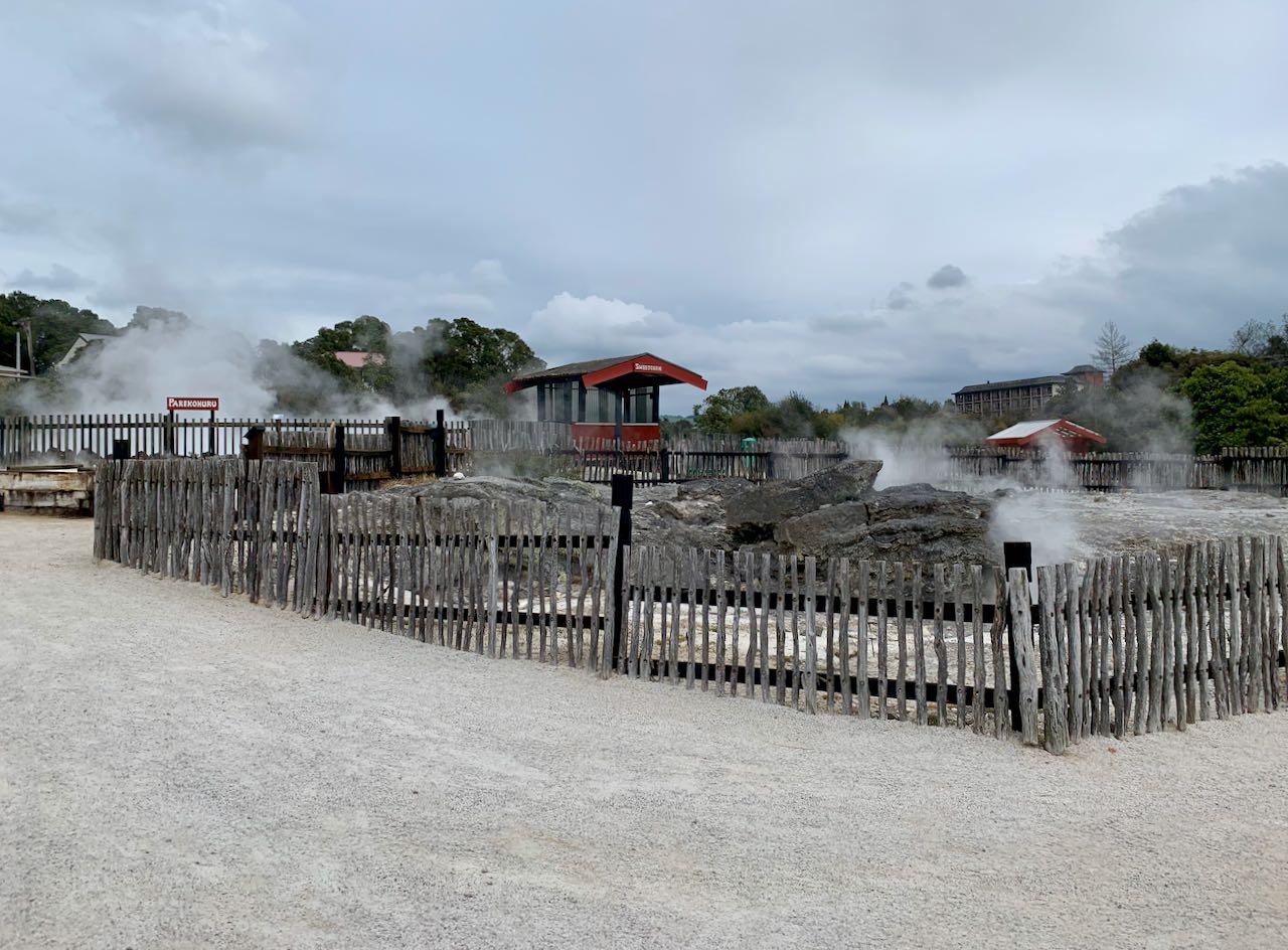 Hot pools, Whakarewarewa, A Geothermal Māori Village