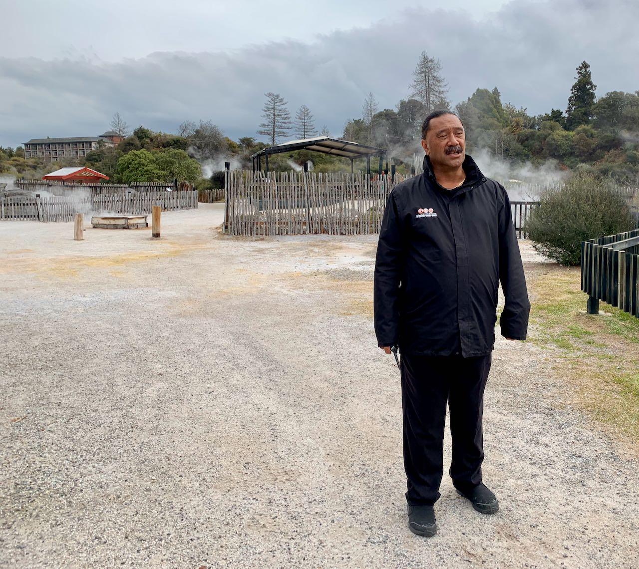 Guided tour, Whakarewarewa, A Geothermal Māori Village
