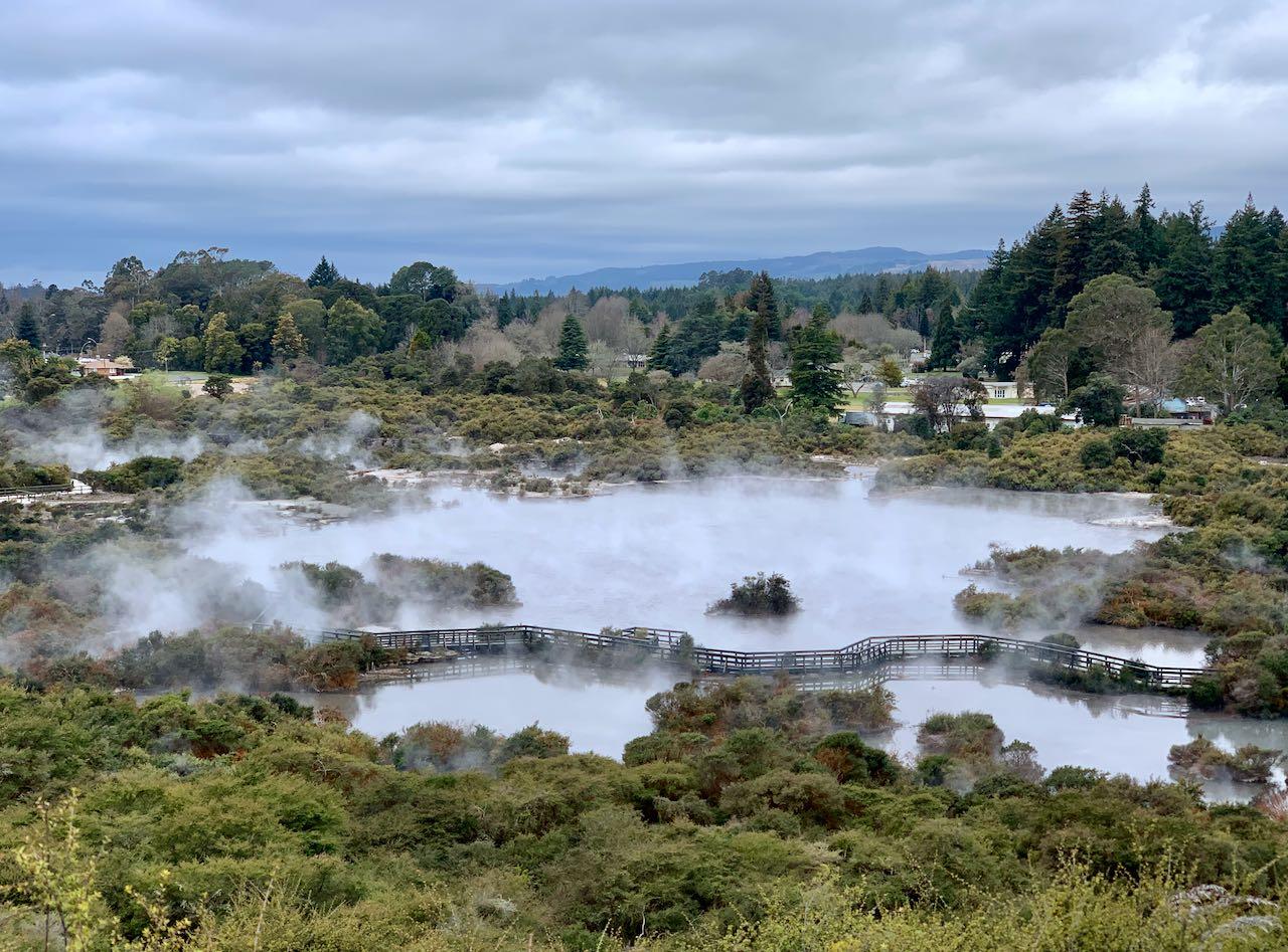 Geothermal tour, Whakarewarewa, A Geothermal Māori Village