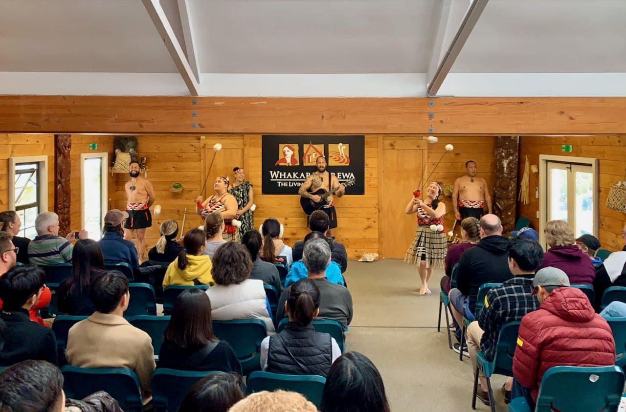 Cultural Performance, Whakarewarewa, A Geothermal Māori Village