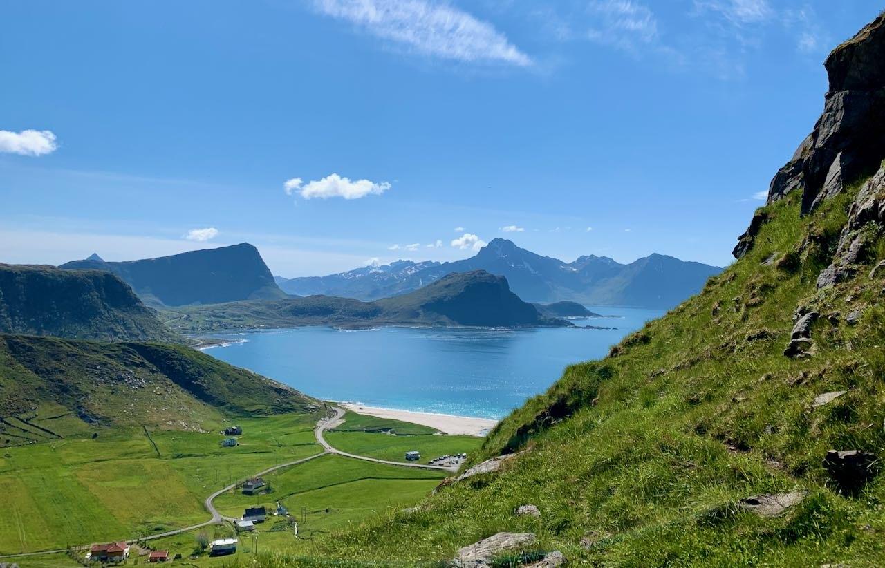 Hauklandstranda Lofoten Norway