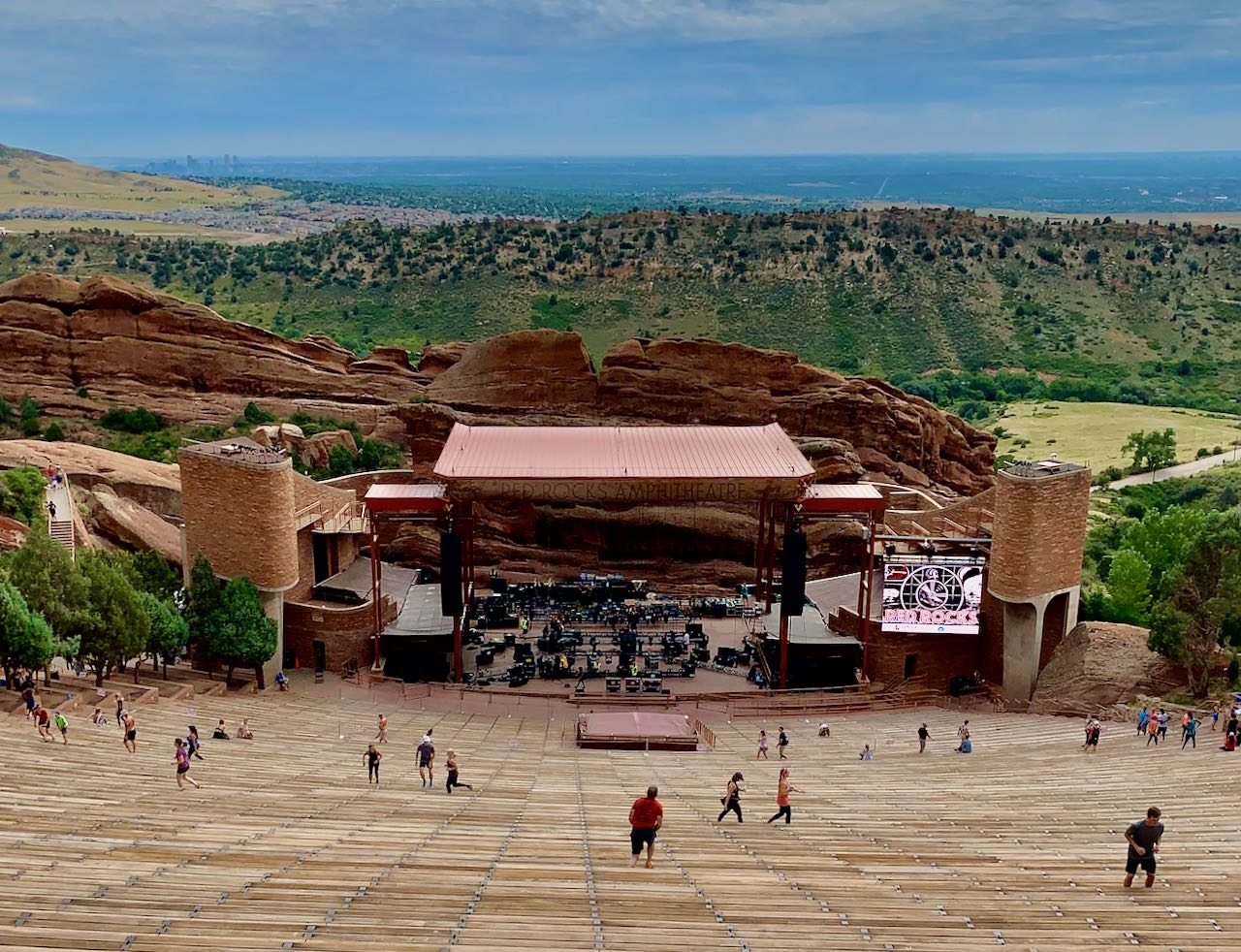 Red Rock Amphitheather Denver
