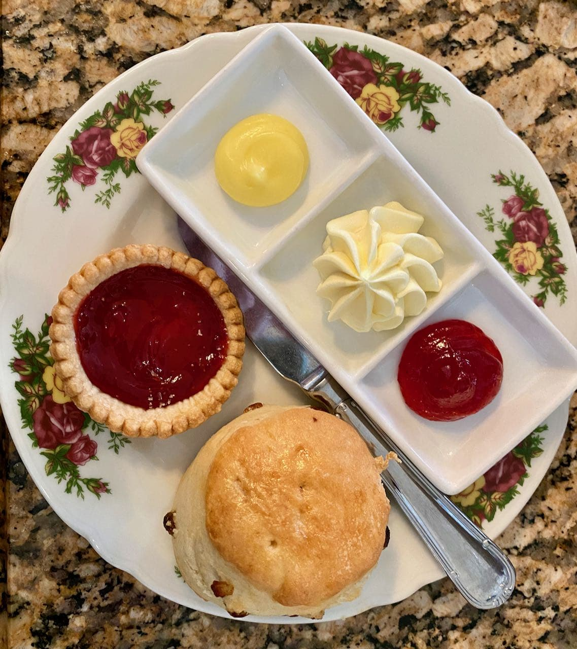Scones Clotted Cream Afternoon Tea Disney's Grand Floridian Resort & Spa Orlando review