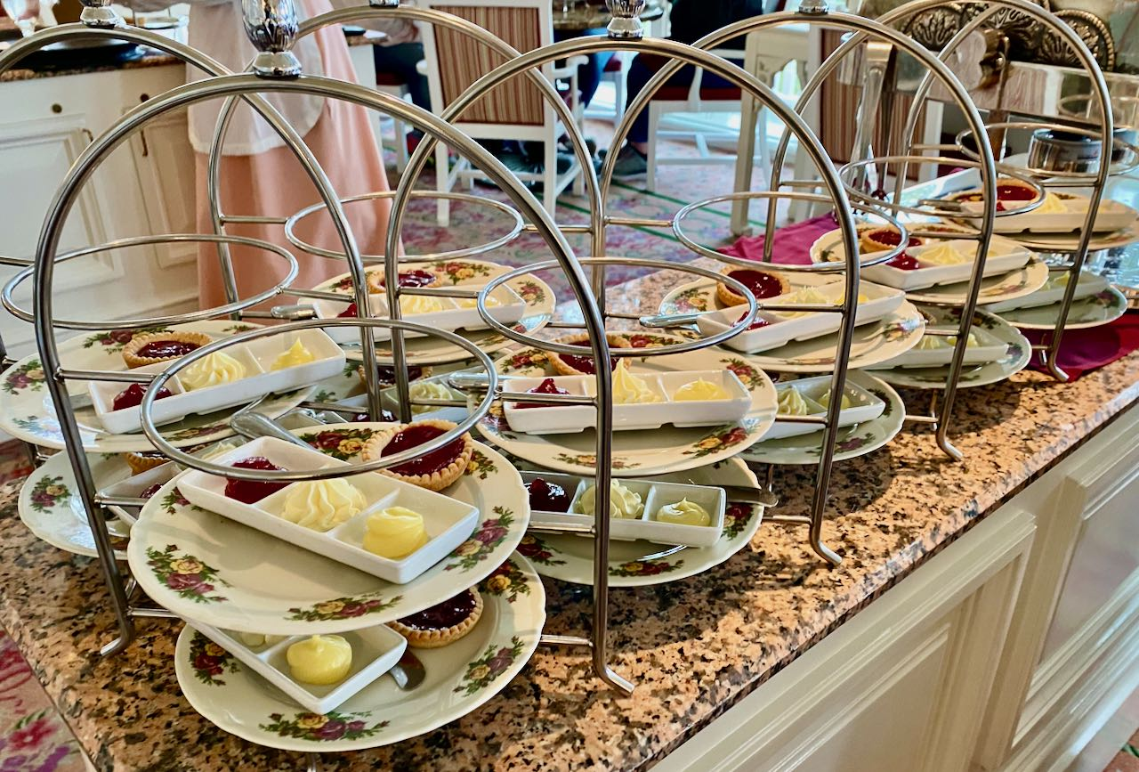 Mass production Afternoon Tea Disney's Grand Floridian Resort & Spa Orlando review
