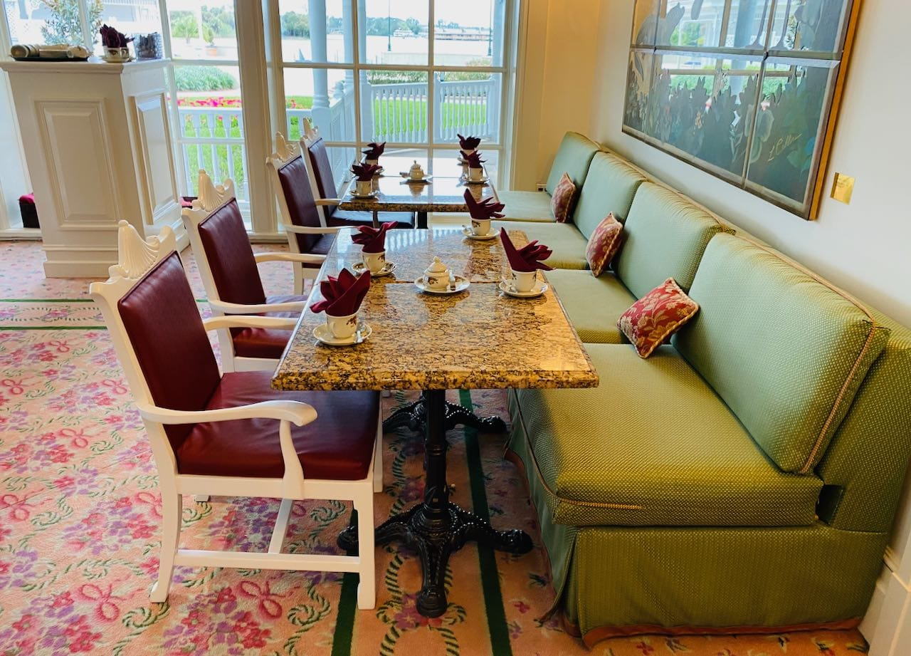 Garden Tea View Room Disney's Grand Floridian Resort & Spa Orlando