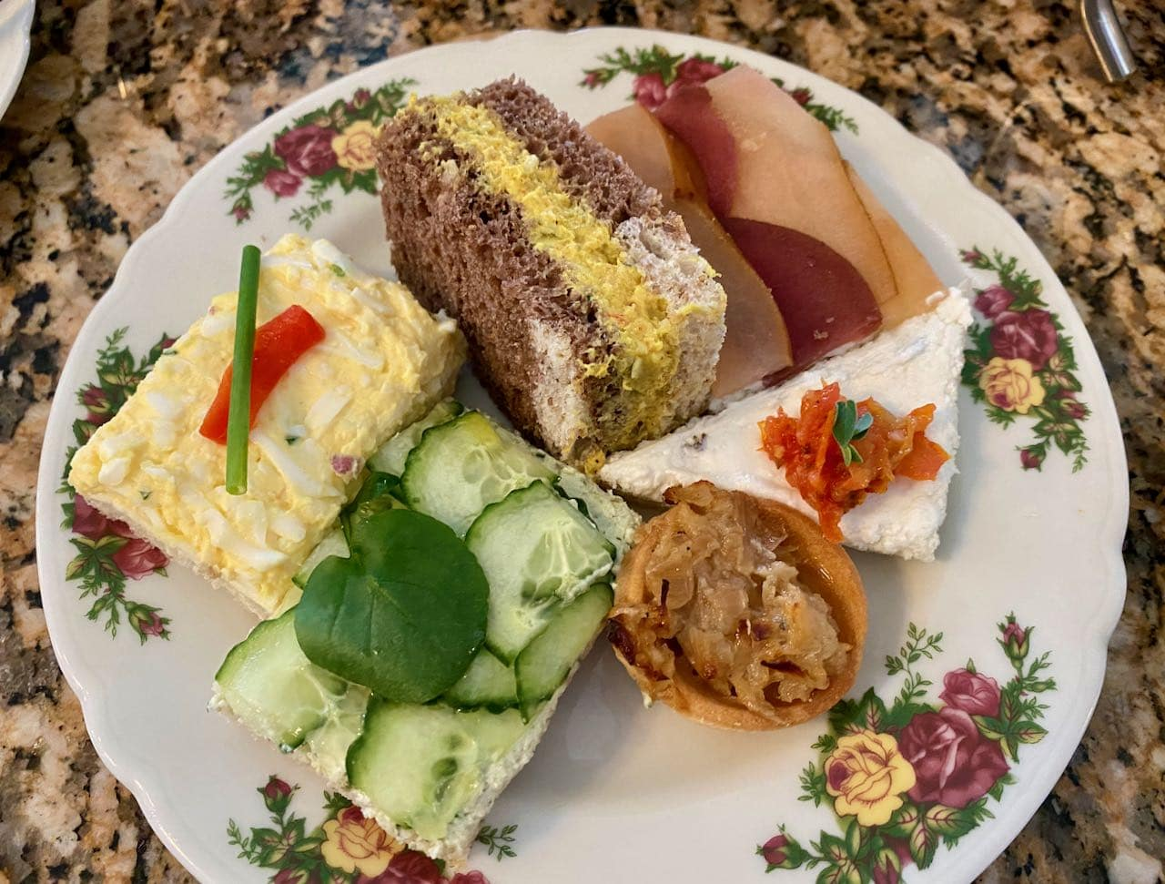 Sandwiches Afternoon Tea Disney's Grand Floridian Resort & Spa Orlando review