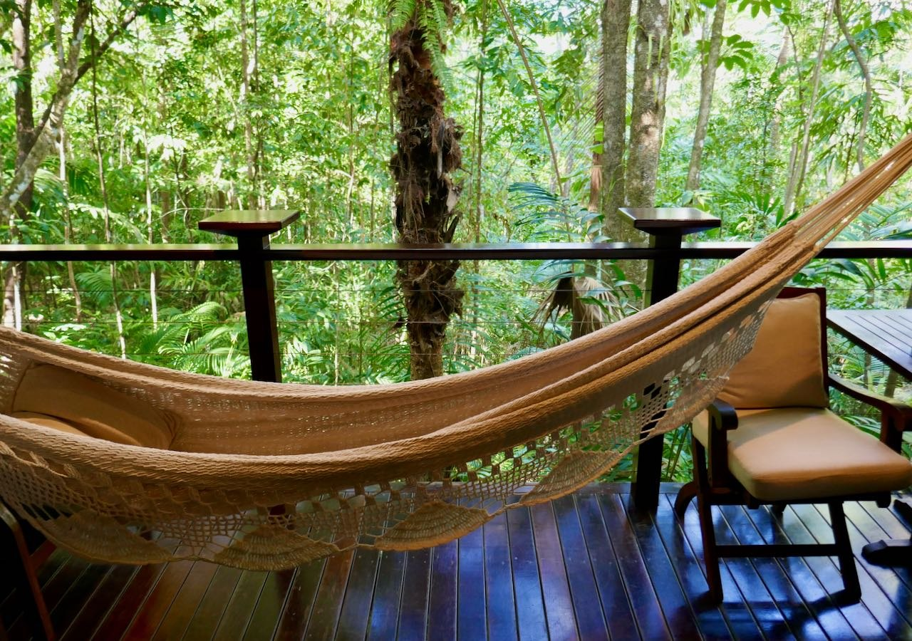 Hammock Garden Treehouse Silky Oaks Lodge review