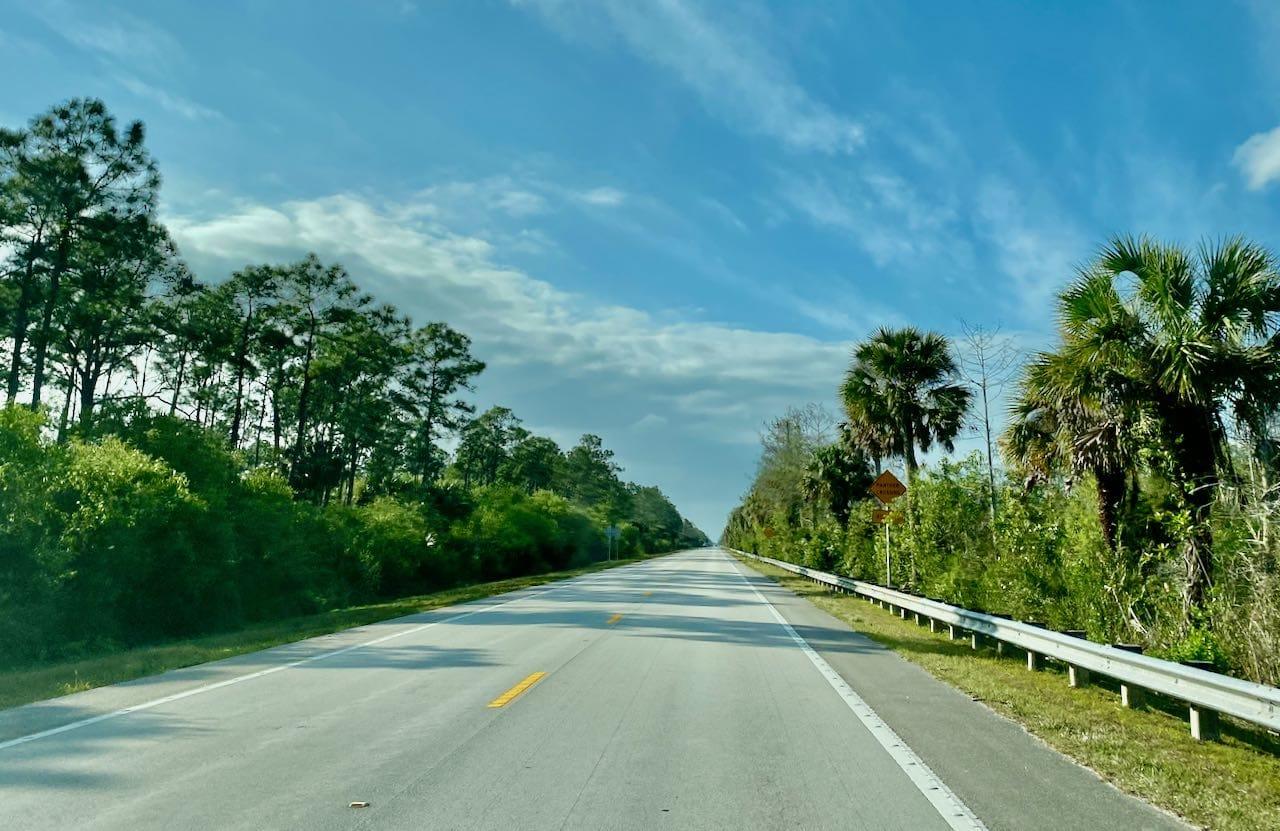 17 steder å stoppe langs Tamiami Trail/ U.S Highway 41
