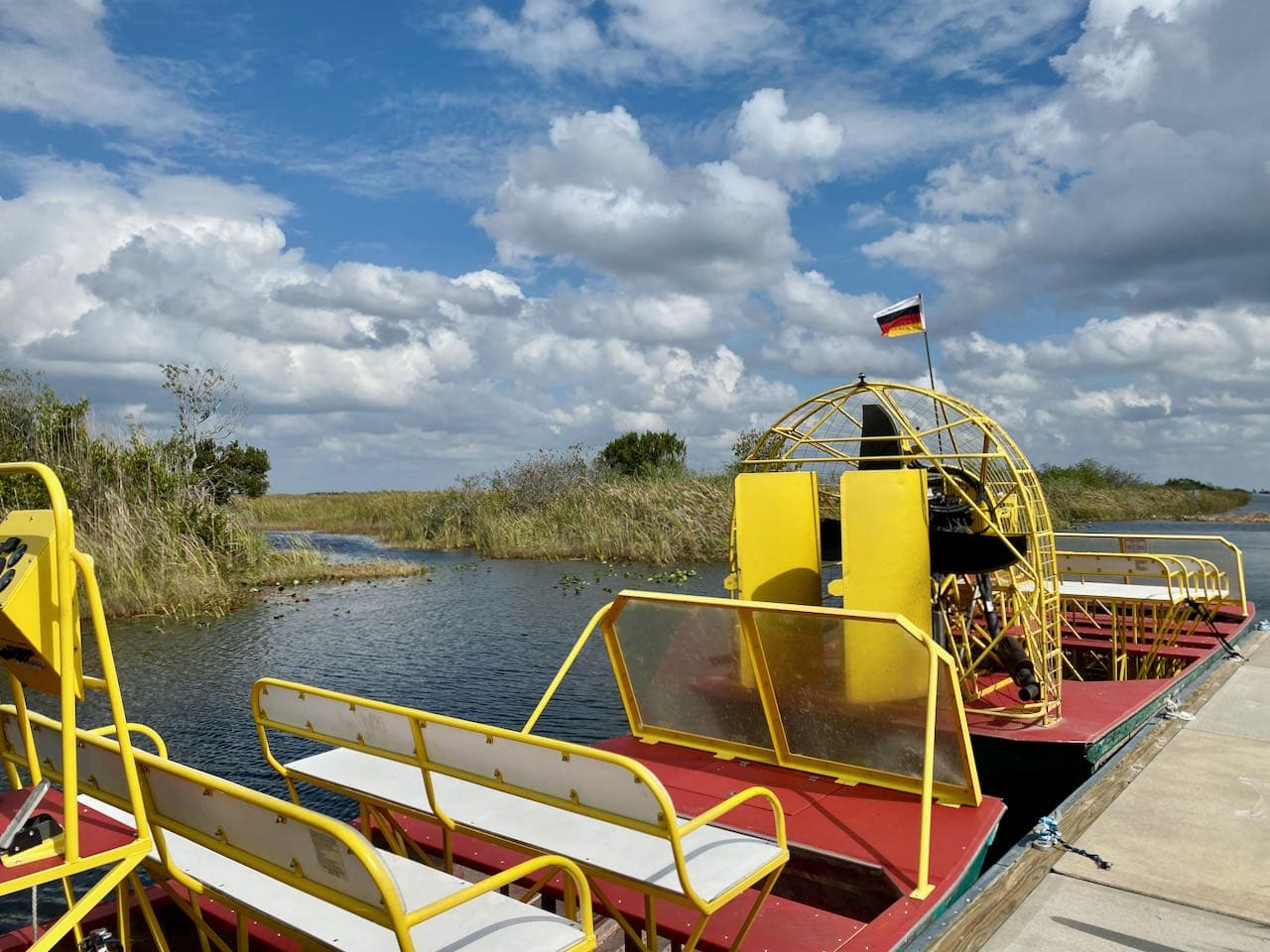 Airboat tour Everglades National Park Attractions and Places to Stop Along the Tamiami Trail/U.S. Highway 41